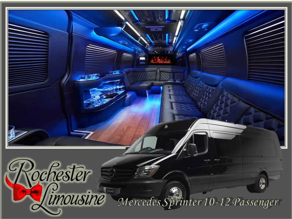 Mercedes Sprinter 10-12 Passenger