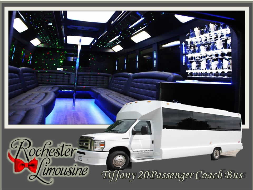 Metro Detroit Airport Limo Bus 20 Passenger