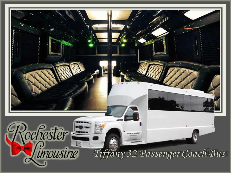 Metro Detroit Airport Limo Bus 32 Passenger