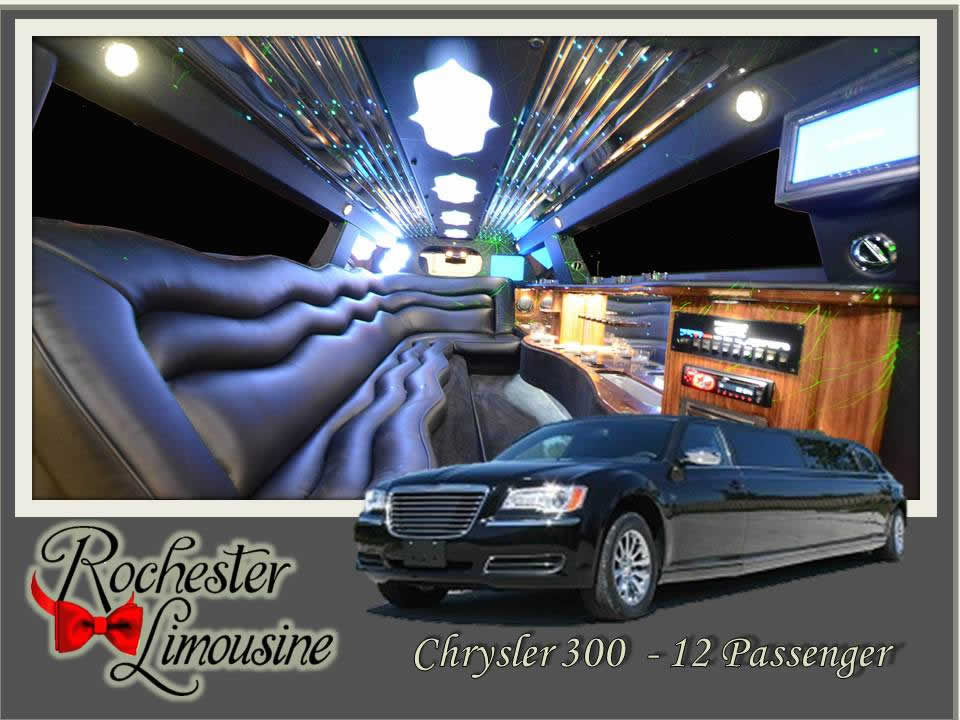 Chrysler 300 Limousine 12 Passengers